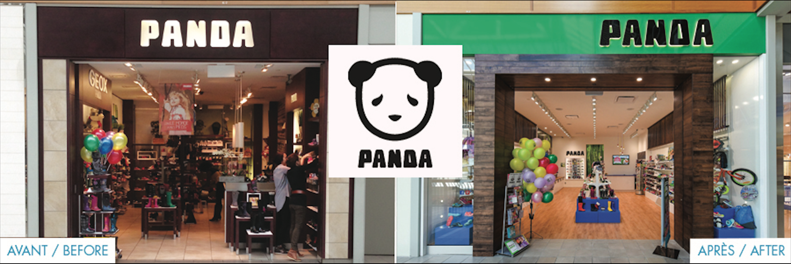 Boutique panda centre fairview pointe claire agence shop for Centre boutique